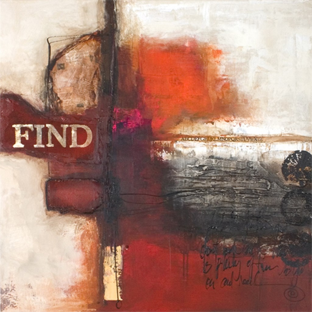 FIND - Original Paintings - size 100x100cm