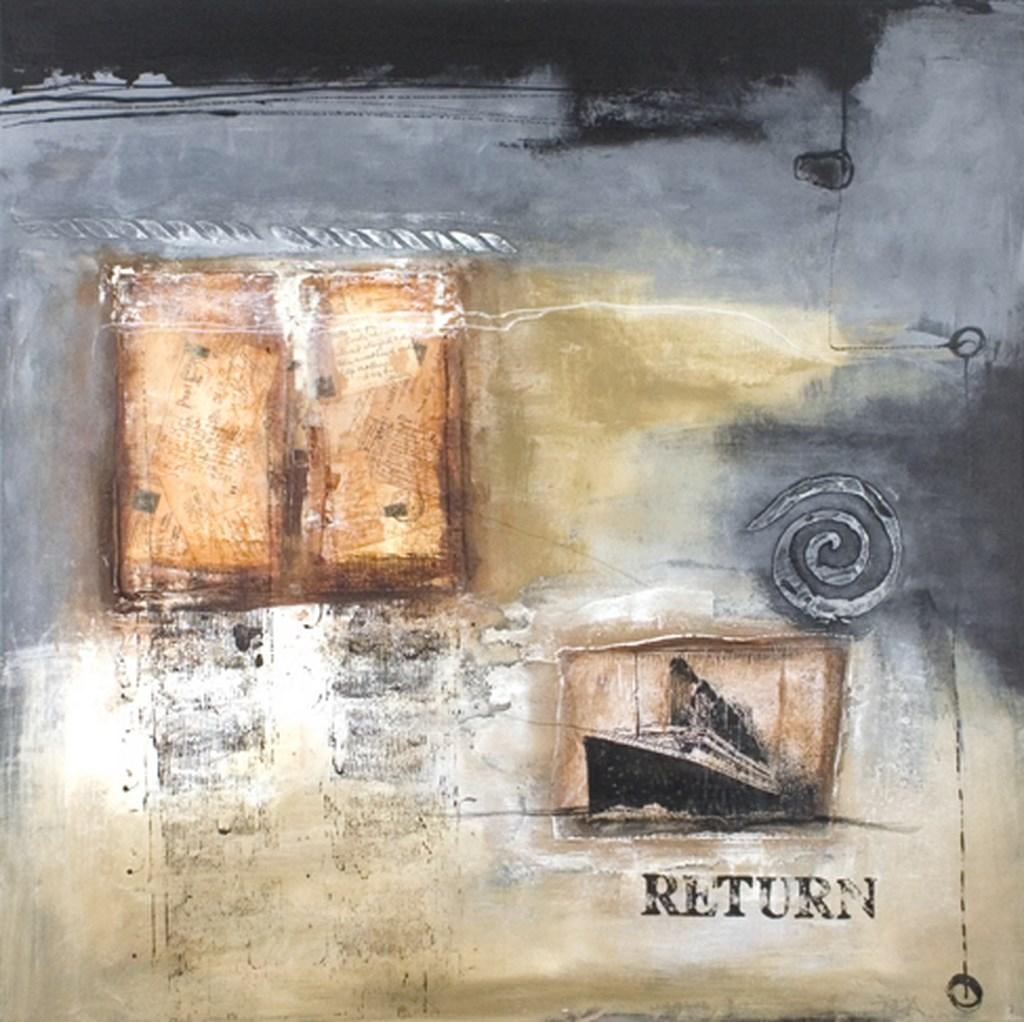 RETURN - Original Paintings - wymiary 100x100cm