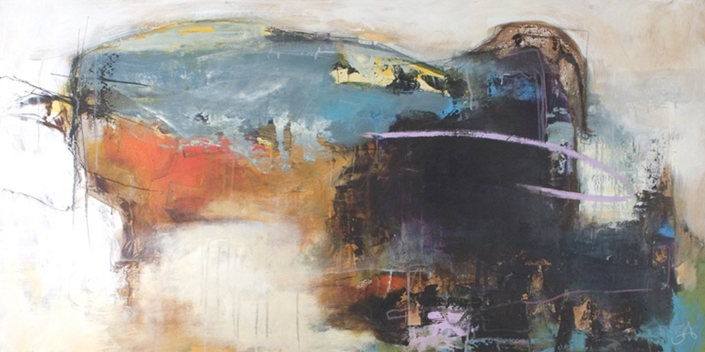 SECRETS 3 - Original Paintings - wymiary 140x70cm