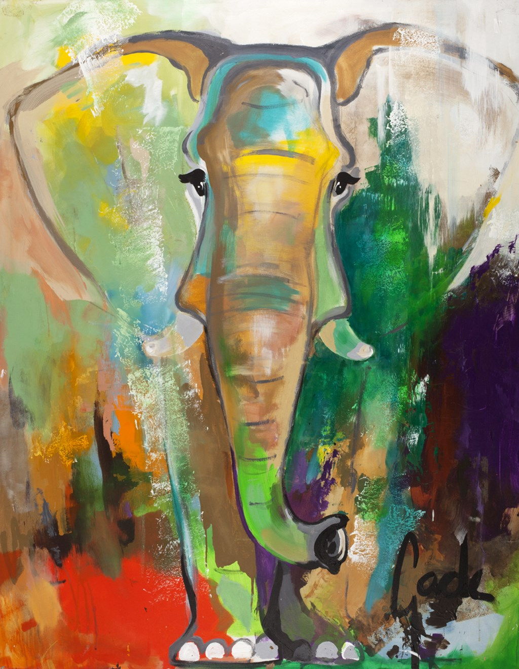 ELEPHANT DREAM - Original Paintings - size 118x150cm