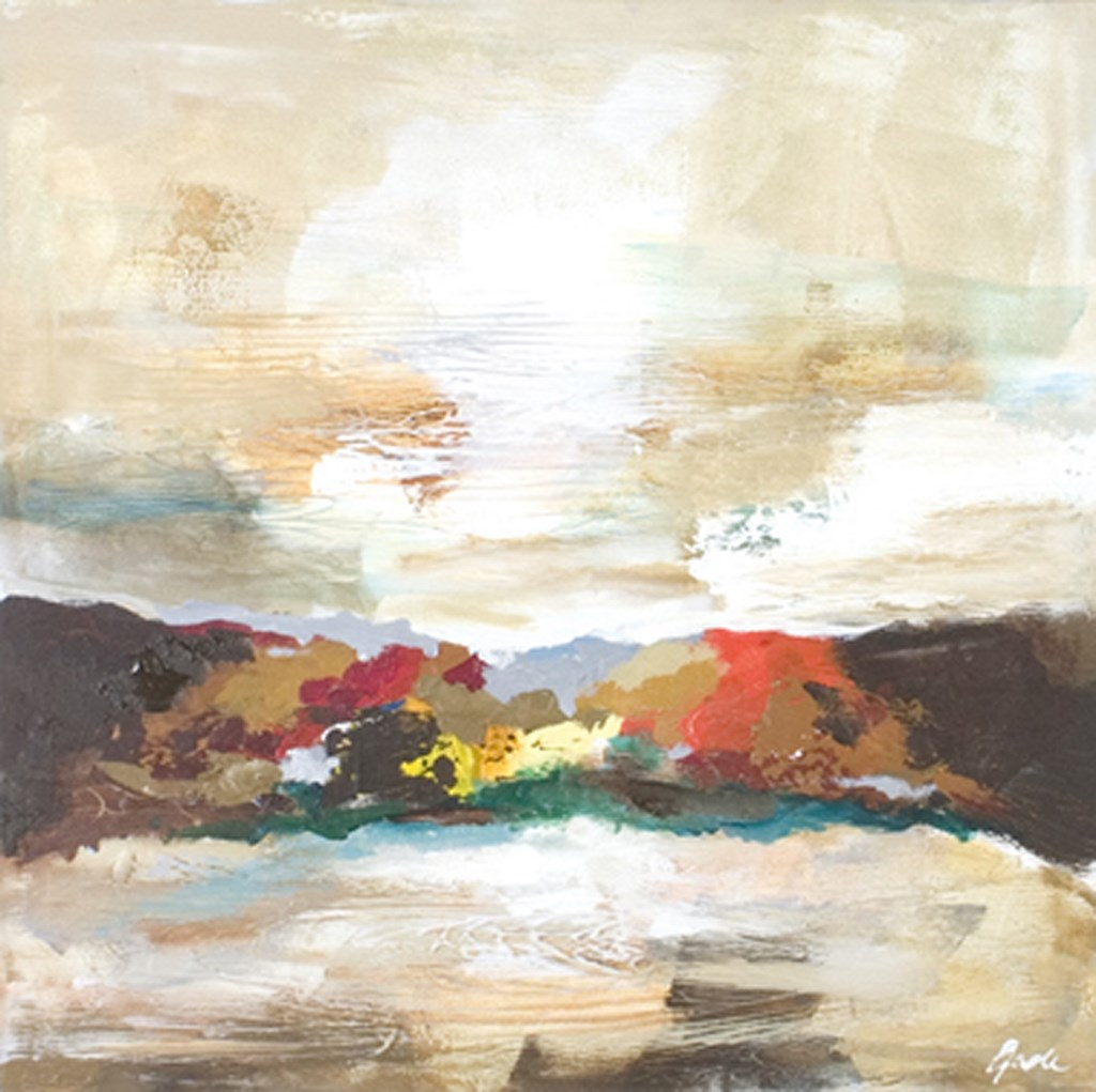 HORIZON 2 - Original Paintings - wymiary 70x70cm