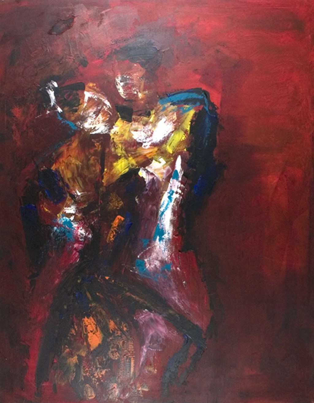 DANCE - Original Painting - wymiary 90x120cm