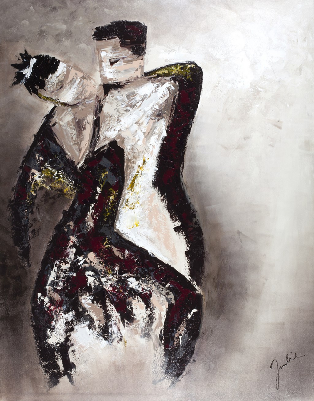 DANCE BROWN - Original Painting - size 118x150cm