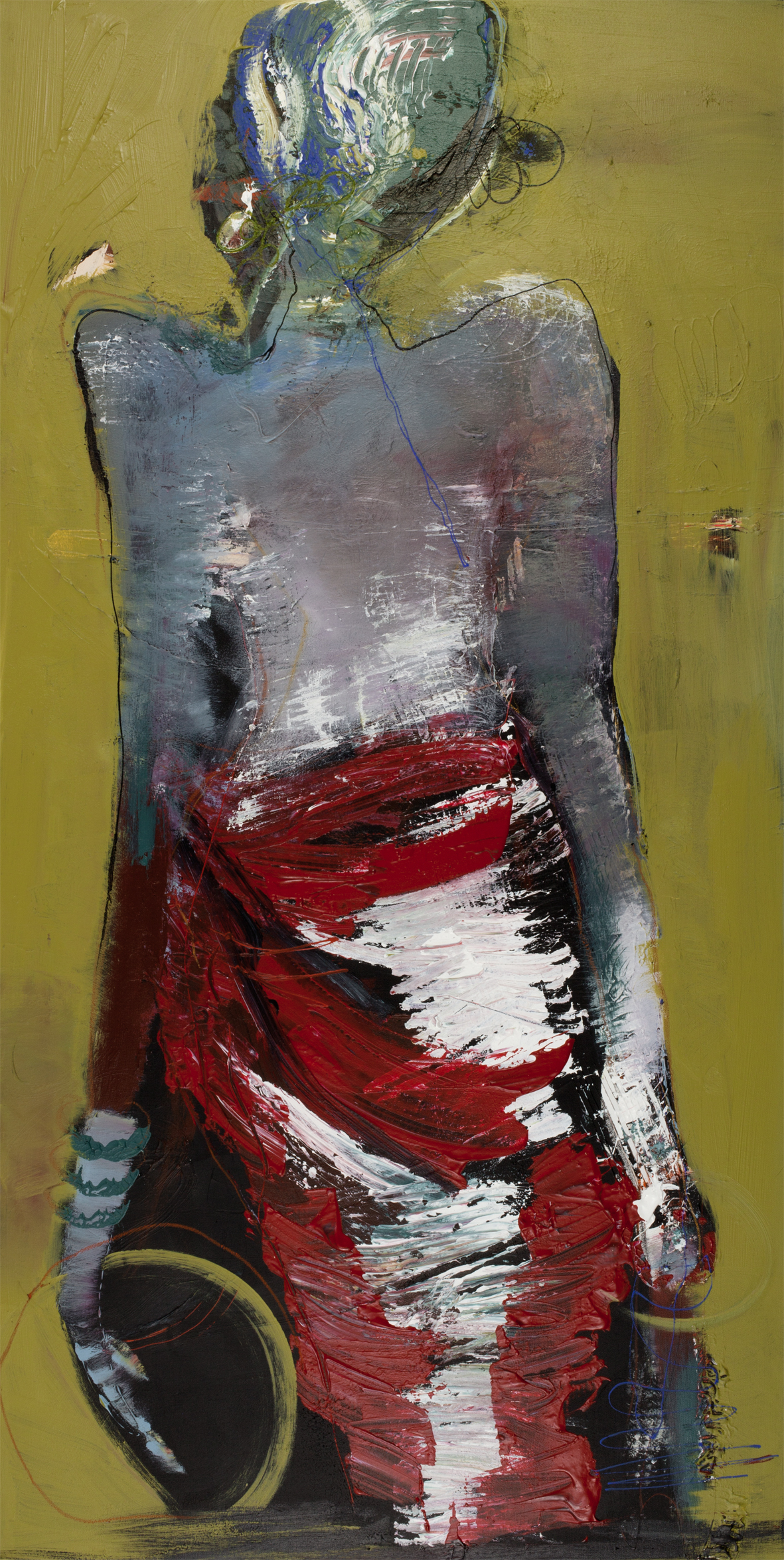 COUTURE 2 - Original Painting - size 70x140cm