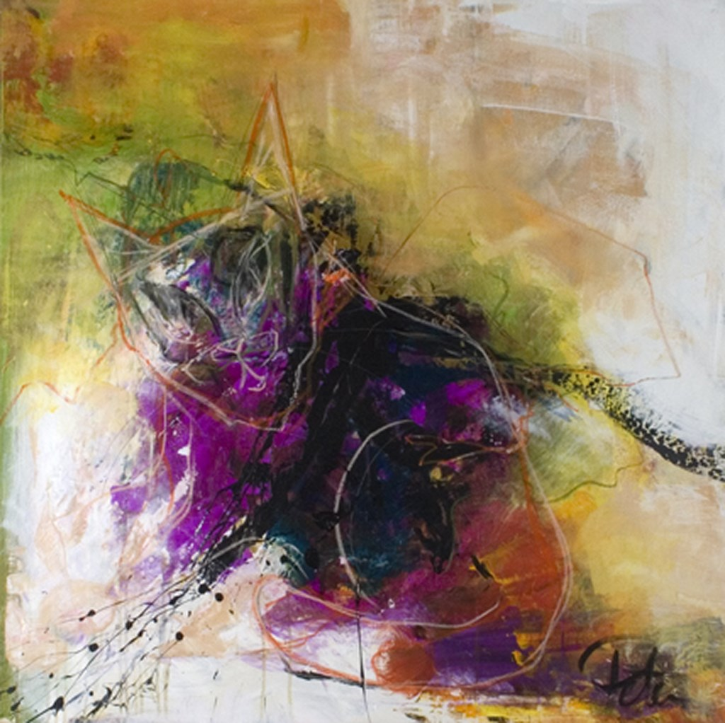 RUSTLE - Original Painting - size 70x70cm