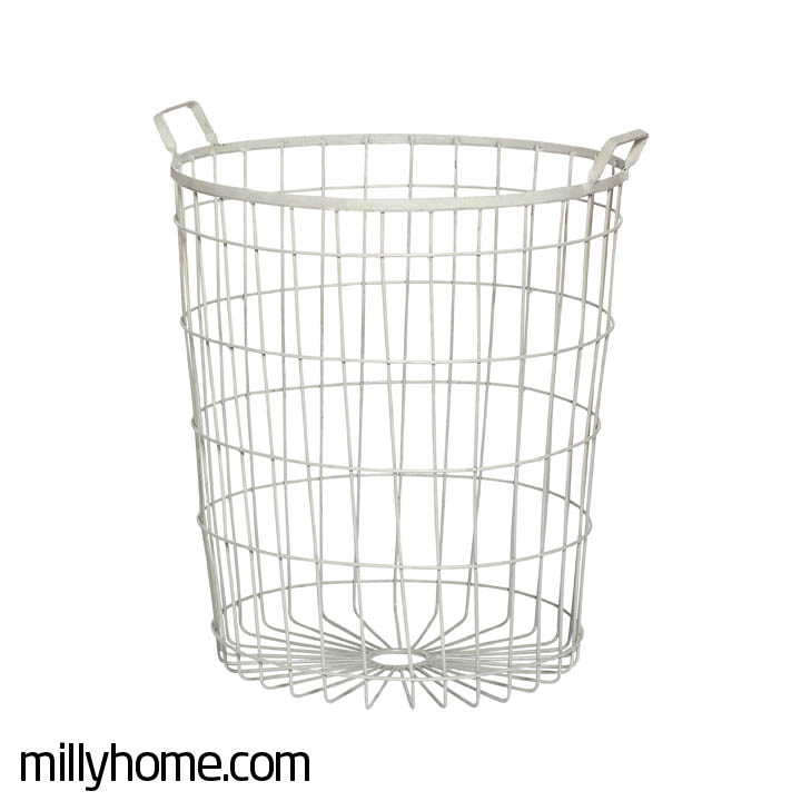 BASKET zinc large